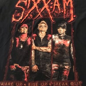 Top Selling Sixx A.M. Band 2016 Tour T-Shirt